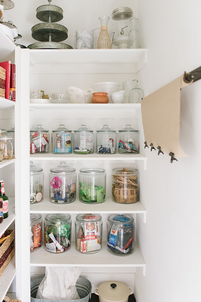 Pantry Organization Ideas Our pantry is one of my favorite new additions to our home