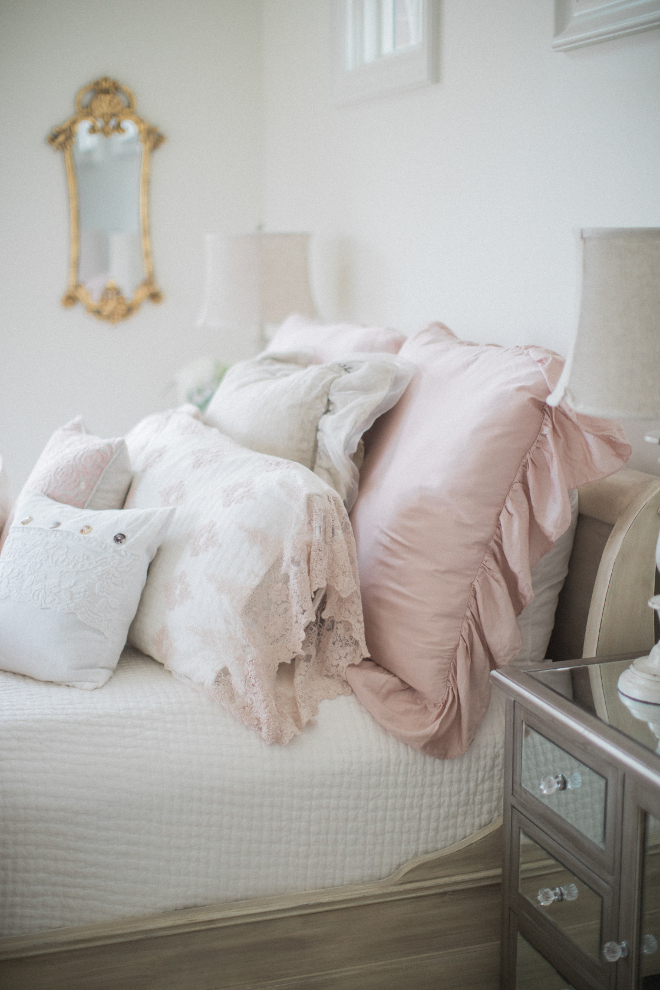 Girl Bedroom Pale Pink Girl Bedroom pale Pink