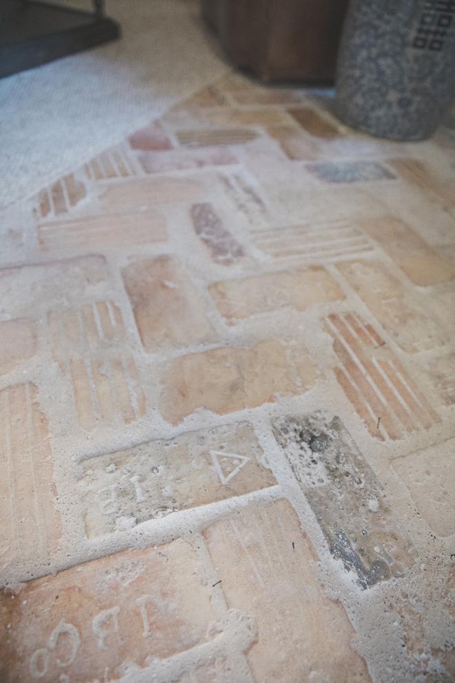 Herringbone Reclaimed Brick Flooring Indoor Herringbone Reclaimed Brick Flooring