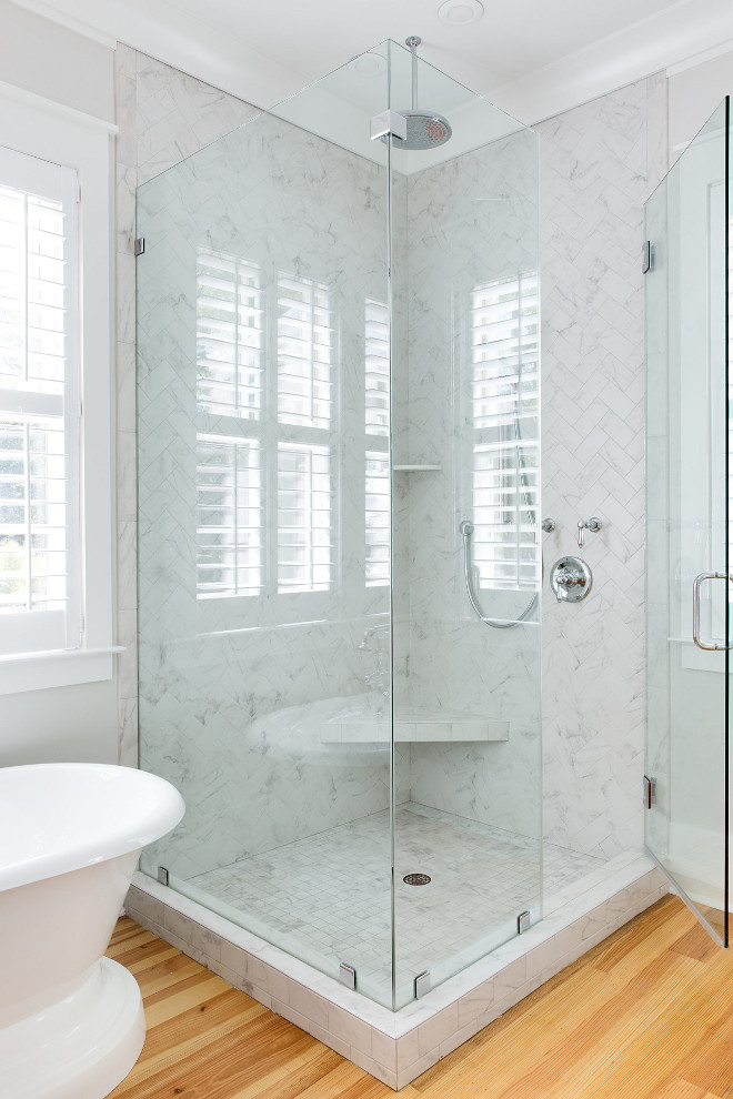Herringbone Shower Tile Marble Herringbone Shower Tile