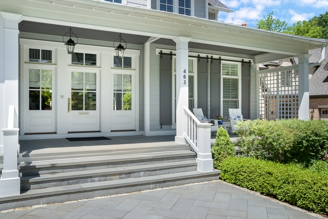 Path and porch steps is Bluestone Path and porch steps is Bluestone Pathway is set in a herringbone pattern