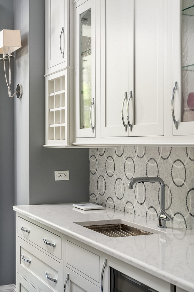 Butlers pantry Countertop Cambria quartz countertop