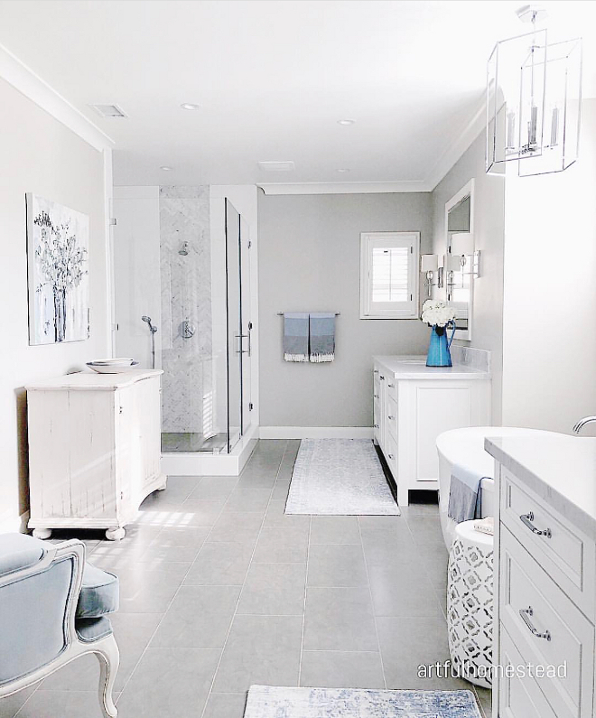 Light Grey Bathroom Light Grey Bathroom Light Grey Bathroom Light Grey Bathroom #LightGreyBathroom