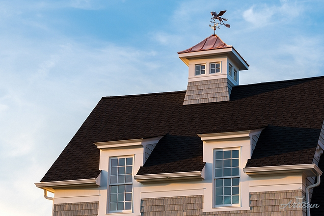 Copper Weathervane & Copper roof Cupola