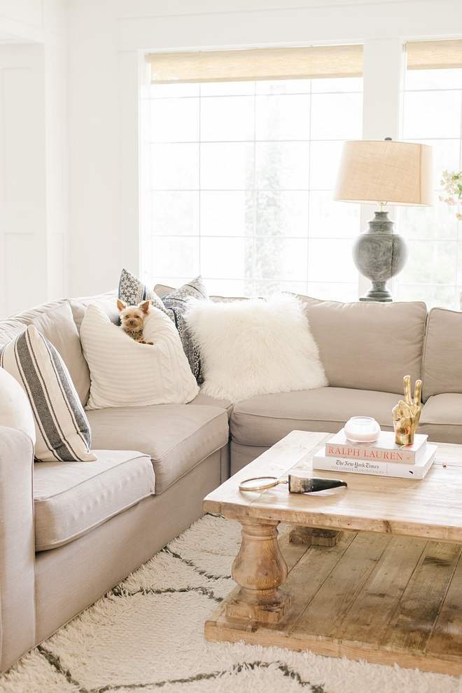 Sectional Pillow Combination ideas
