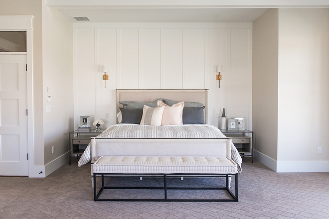 Modern Farmhouse bedroom niche with board and batten accent wall Modern Farmhouse bedroom niche with board and batten accent wall Modern Farmhouse bedroom niche with board and batten accent wall Modern Farmhouse bedroom niche with board and batten accent wall