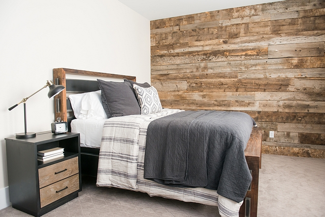 Shiplap Salvage Barnwood Bedroom accent wall Shiplap Salvage Barnwood Shiplap Salvage Barnwood