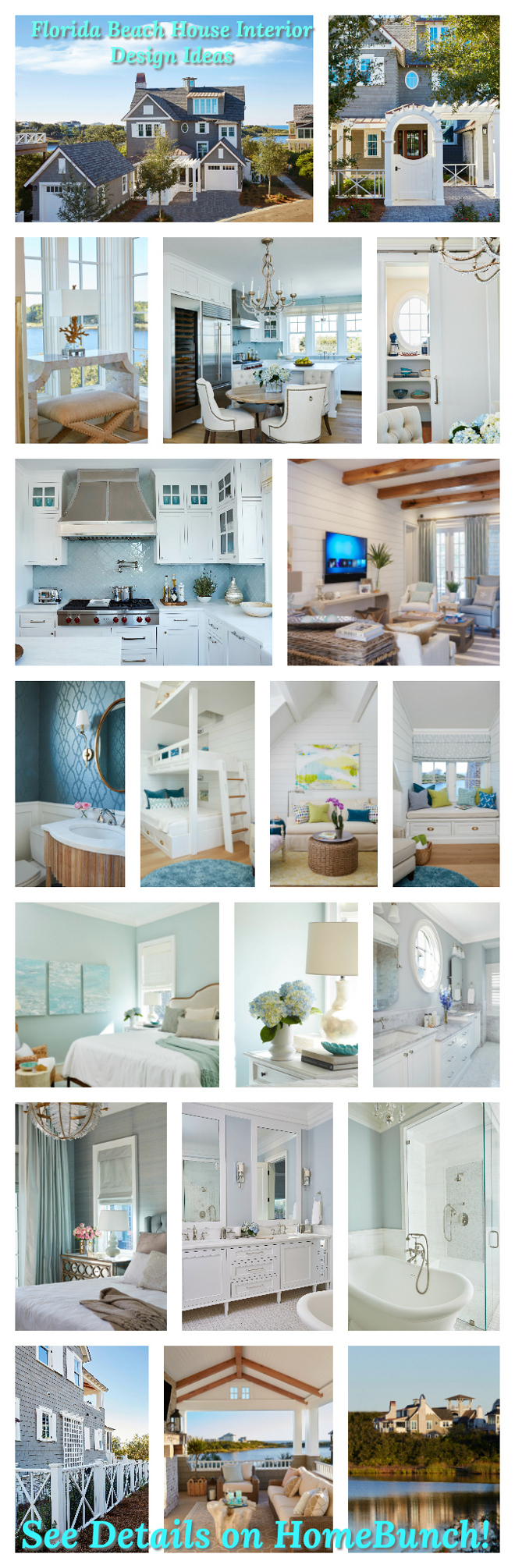 Florida Beach House Interior Design Ideas Paint colors and decor sources Florida Beach House Interior Design Ideas
