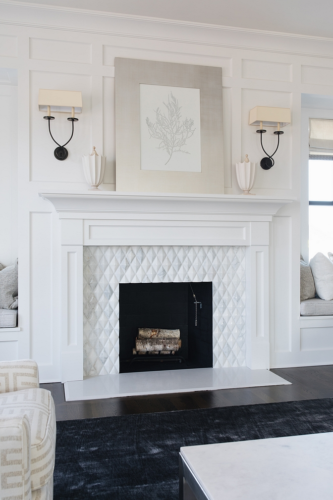 Benjamin Moore Simply White Best white trim fireplace paint color Benjamin Moore Simply White Benjamin Moore Simply White
