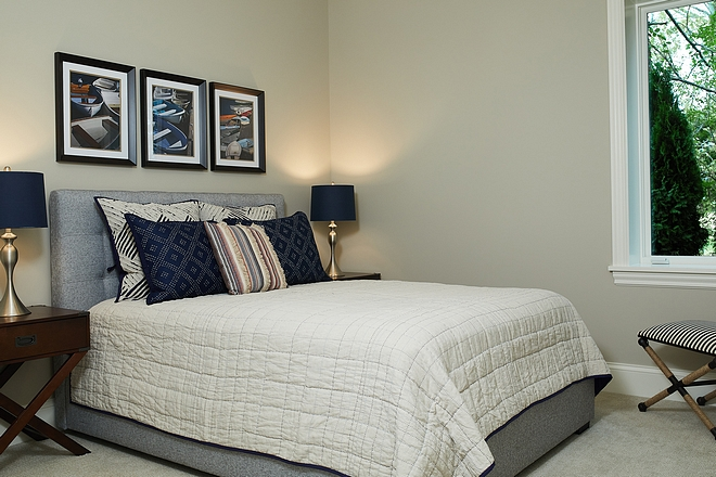 Basement Bedroom Paint Color Benjamin Moore Revere Pewter