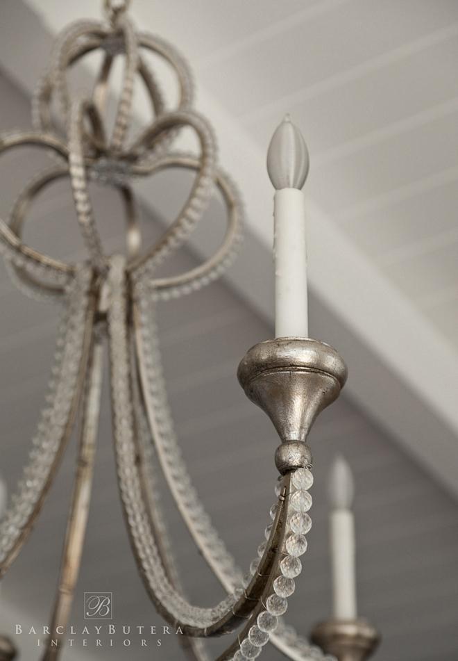 "Visual Comfort NW 5031VS Venetian Silver Milan 6 Light 38"" Wide Chandelier beaded chandelier traditional chandelier"