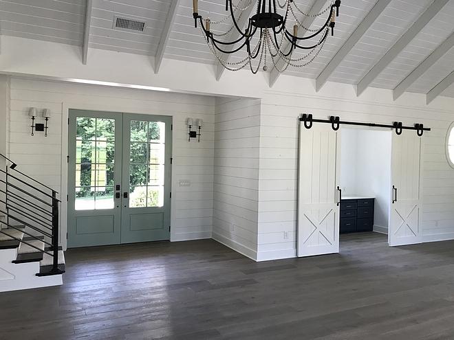 Interior Paint Sheen Walls-Flat, Shiplap-Satin, Ceilings-Flat, Trim/Doors-Semi Gloss, Stairs- Semi Gloss
