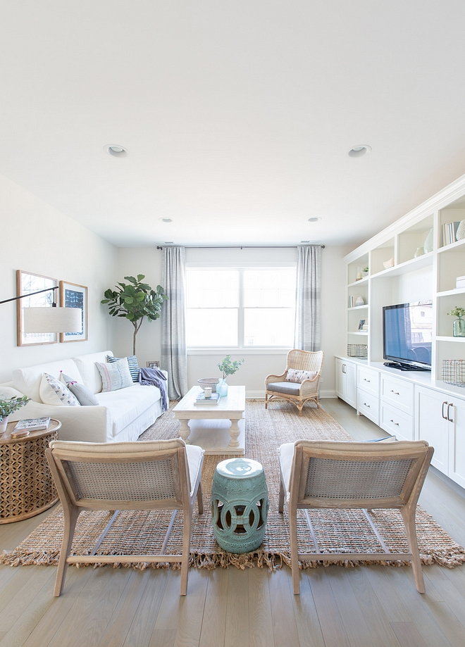 Benjamin Moore Simply White Trim and Builtin Color Benjamin Moore Simply White Benjamin Moore Simply White