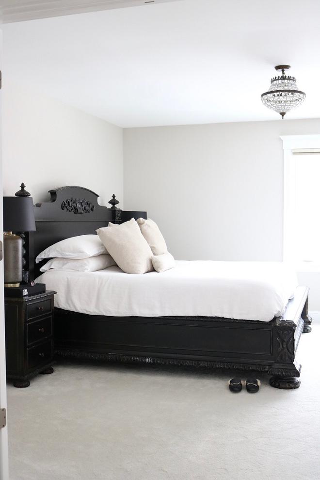 Black Bed Restoration Hardware French Empire Panel Bed Antiqued Black
