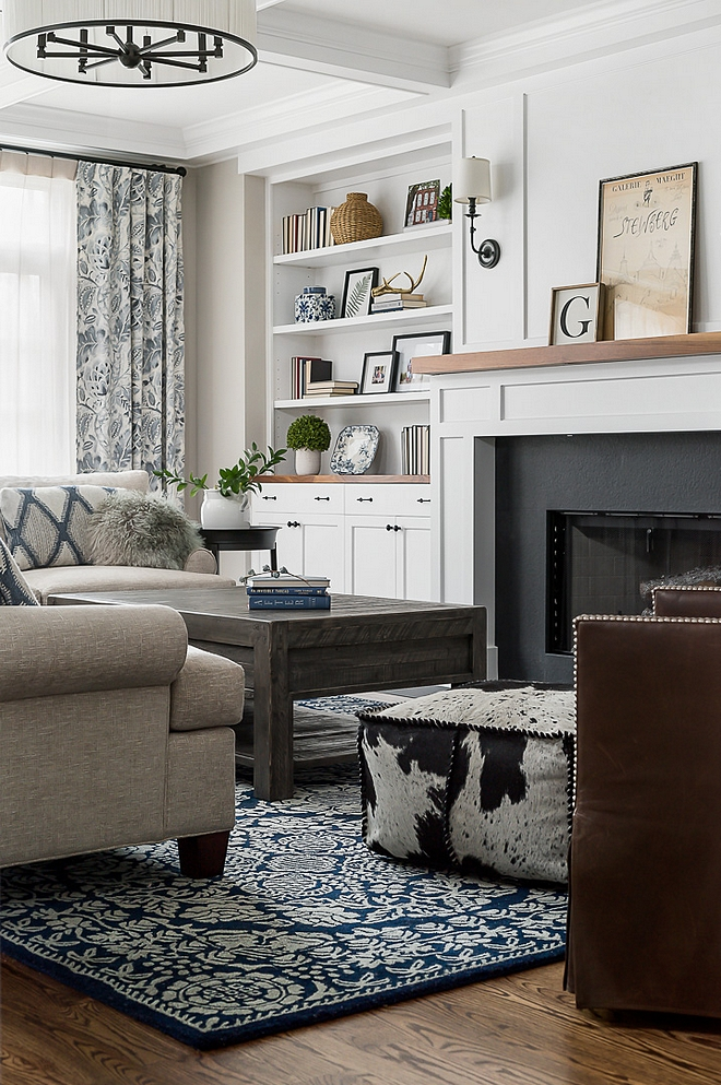 Blue and white rugs Family Room Rug Blue and white rug source on Home Bunch Blue and white rug