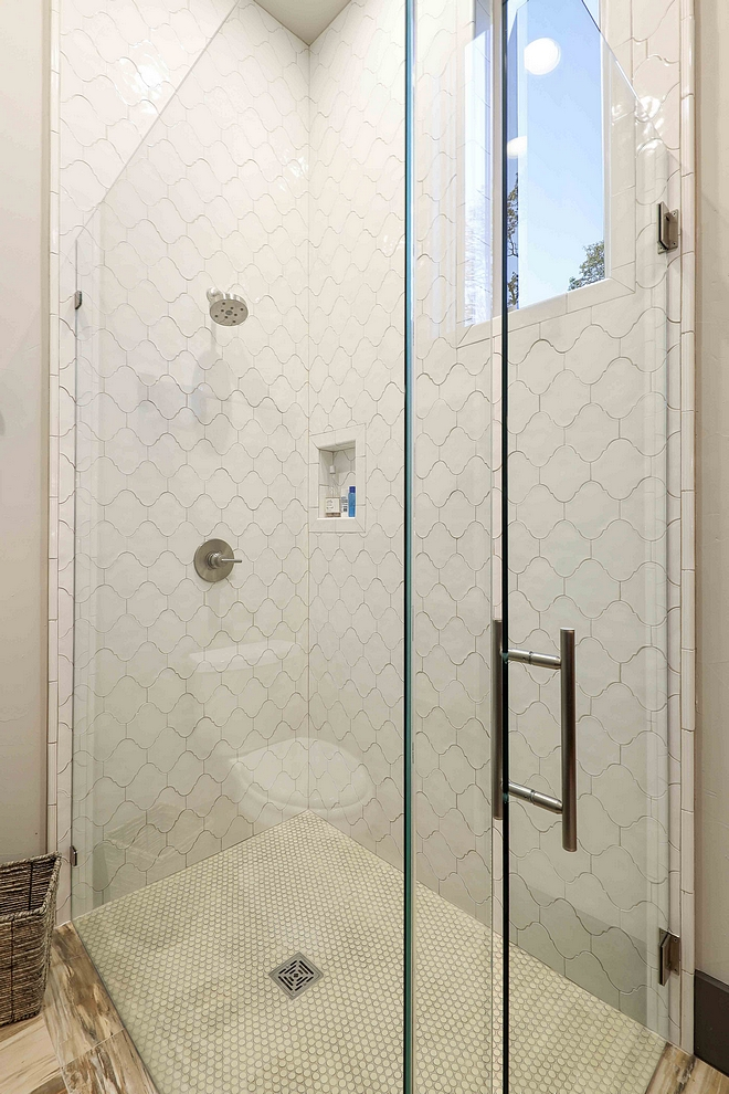 Glazed Arabesque Shower Tile Bathroom shower tile Glazed Arabesque Shower Tile Glazed Arabesque Shower Tile #GlazedArabesque #Shower #Tile
