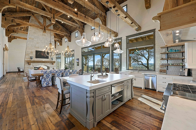 Open Kitchen Layout Open Kitchen Layout Ideas Open Kitchen Layout #OpenKitchenLayout #OpenKitchen