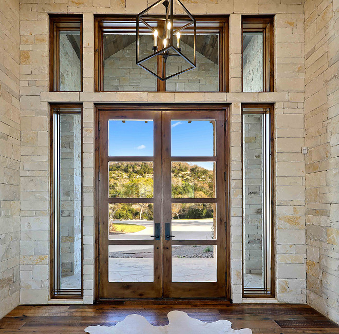 Glass Front Door with Sidelights and transom windows Custom Glass Front Door with Sidelights and transom windows