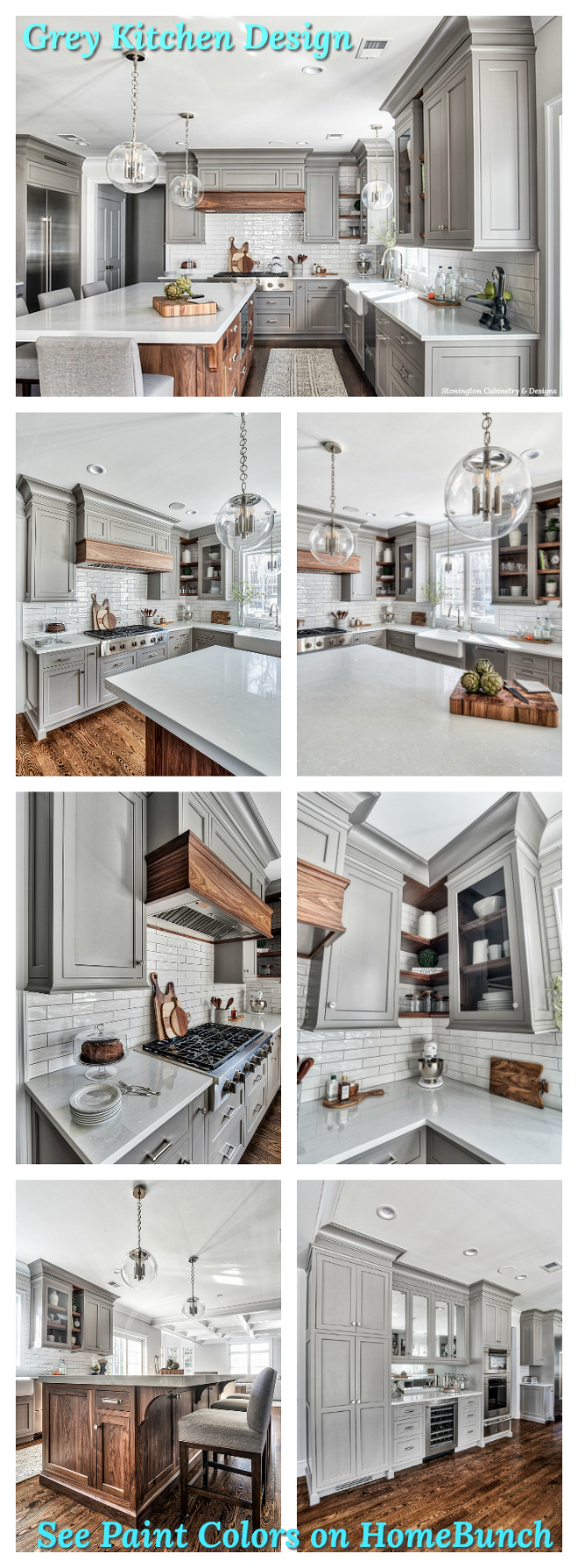 Grey Kitchen Paint Colors on Home Bunch