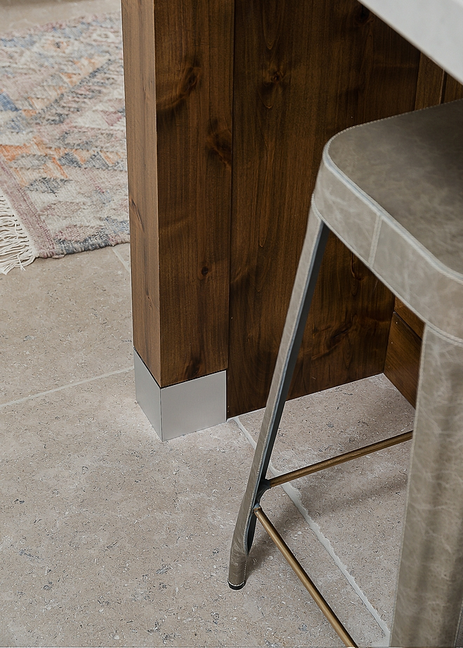 "Kitchen Flooring Paris Ceramics Limestone tile 24"" square Limestone Kitchen Flooring Kitchen Flooring #limestone #Kitchen #Flooring"