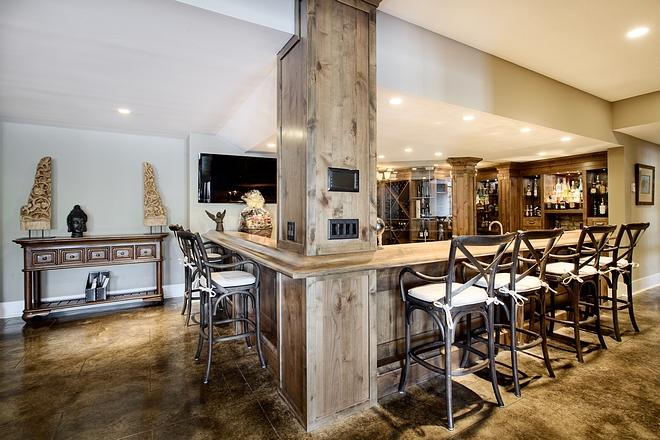 Basement Bar Barstools Crossback Barstools