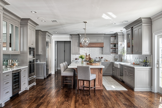 Grey Kitchen Design Grey Kitchen Design Ideas Grey Kitchen Design Layout Grey Kitchen Design Cabinet #GreyKitchenDesign #KitchenDesign