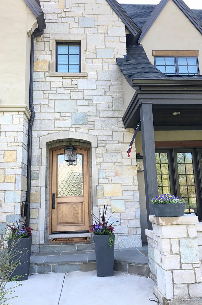 Front Door Front Door The porch and entry is Bluestone Front Door #FrontDoor