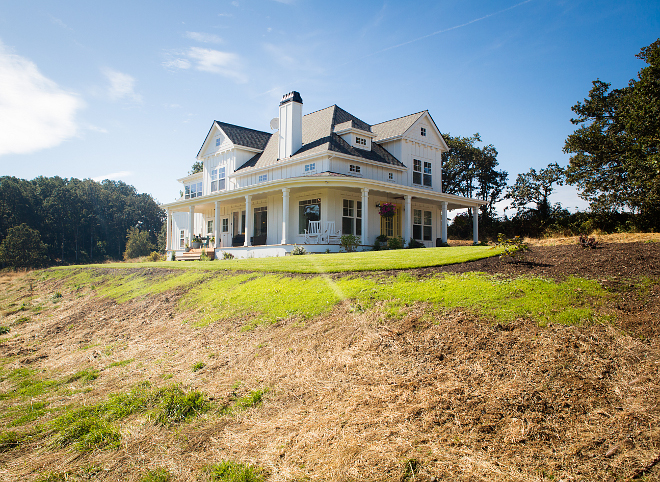 title   farmhouse wrap around porch