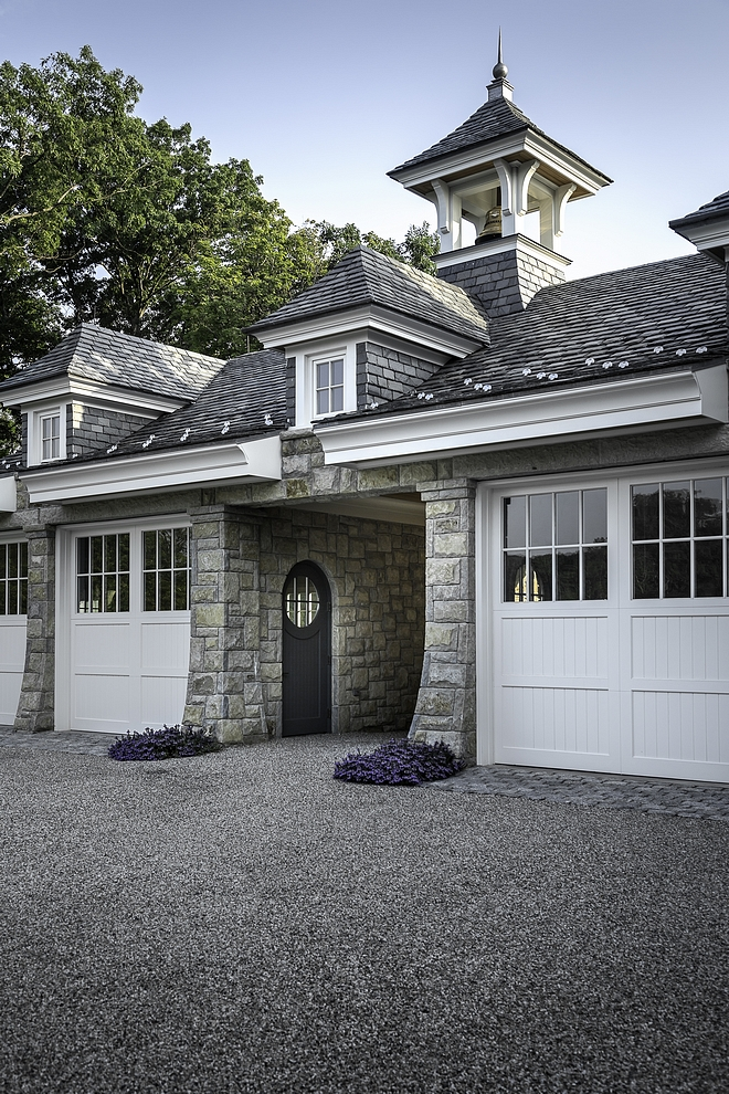 Garage with Stone exterior and slate roof Garage with Stone exterior and slate roof Garage with Stone exterior and slate roof Garage with Stone exterior and slate roof #Garage #garageStoneexterior #slateroof
