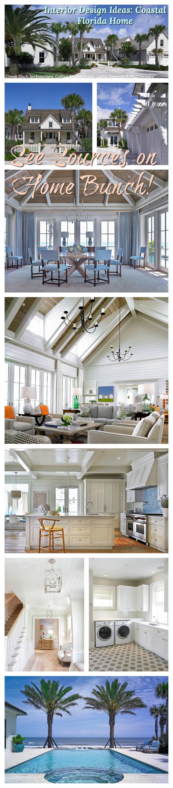 Interior Design Ideas Coastal Florida Home interior decor sources paint colors on Home Bunch