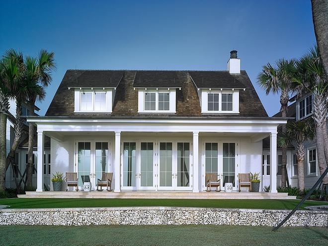 Coastal Cottage Back Porch Florida Coastal Cottage Back Porch #CoastalCottage #Porch