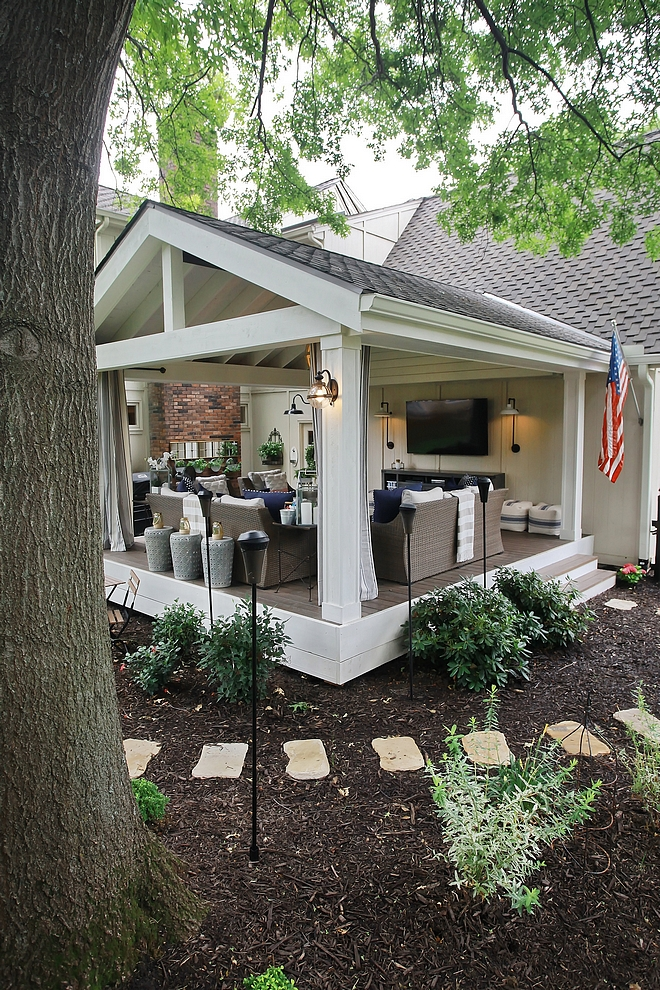 Back Porch Inspiration Back Porch Inspiration Ideas Renovation Back Porch Inspiration #BackPorchInspiration #PorchInspiration #renovation #backyard