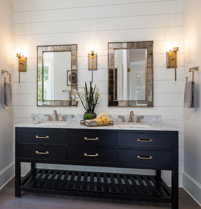 Bathroom shiplap bathroom We are always big fans of shiplap because of their simplicity and sophisticated presence Bathroom shiplap bathroom #Bathroomshiplap #bathroom #shiplap