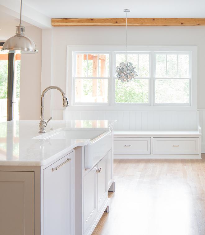 Kitchen Countertop Kitchen countertop is White Rhino Marble honed #KitchenCountertop #Kitchencountertop #WhiteRhinoMarble #honedmarble