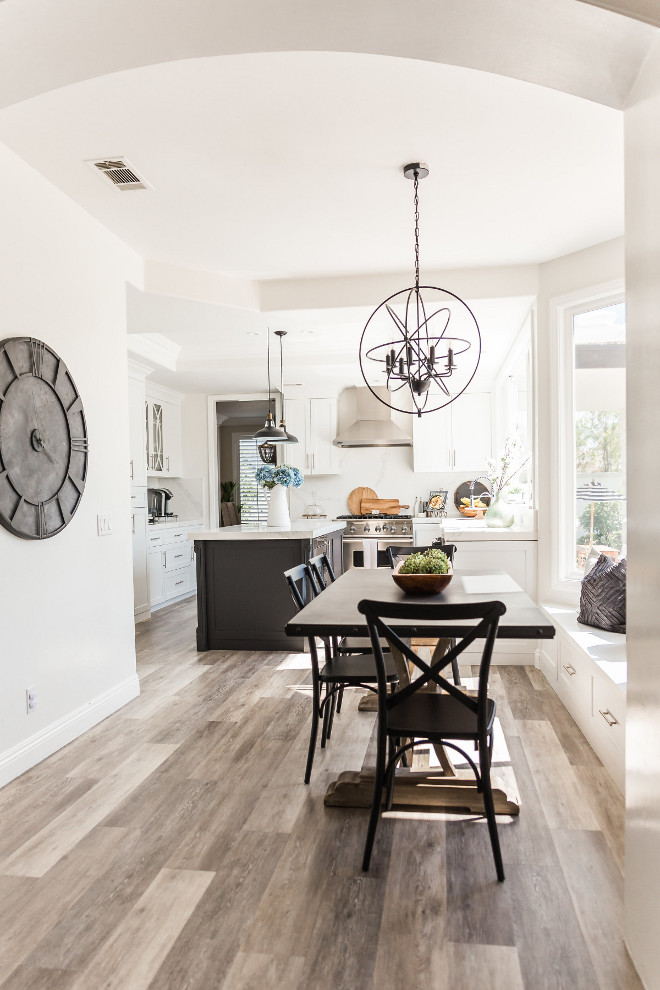 Kitchen remodel The kitchen was the last room we remodeled because of the time frame and the amount of work we wanted done. We love the newly remodeled kitchen and the bright windows bring in amazing natural light #Kitchenremodel