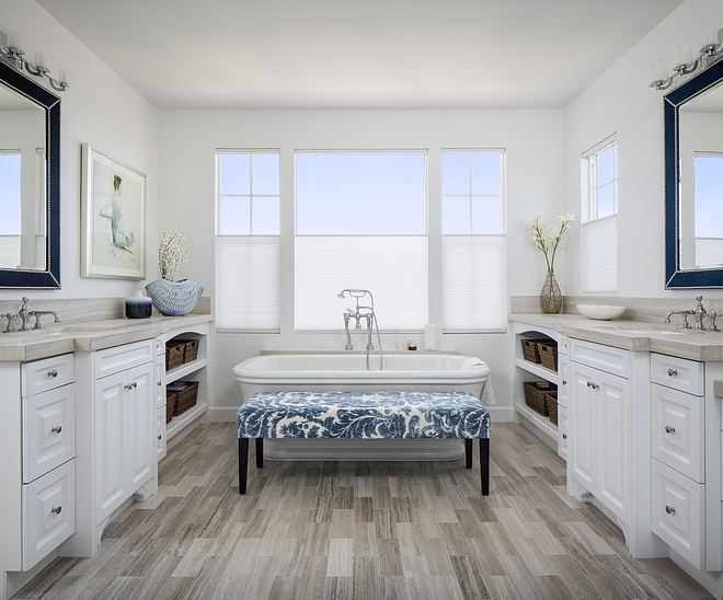 Bathroom wood-looking tile Bathroom wood-looking floor tile Bathroom wood-looking tile ideas Bathroom wood-looking tile #Bathroom #woodlokingtile #tile #floortile