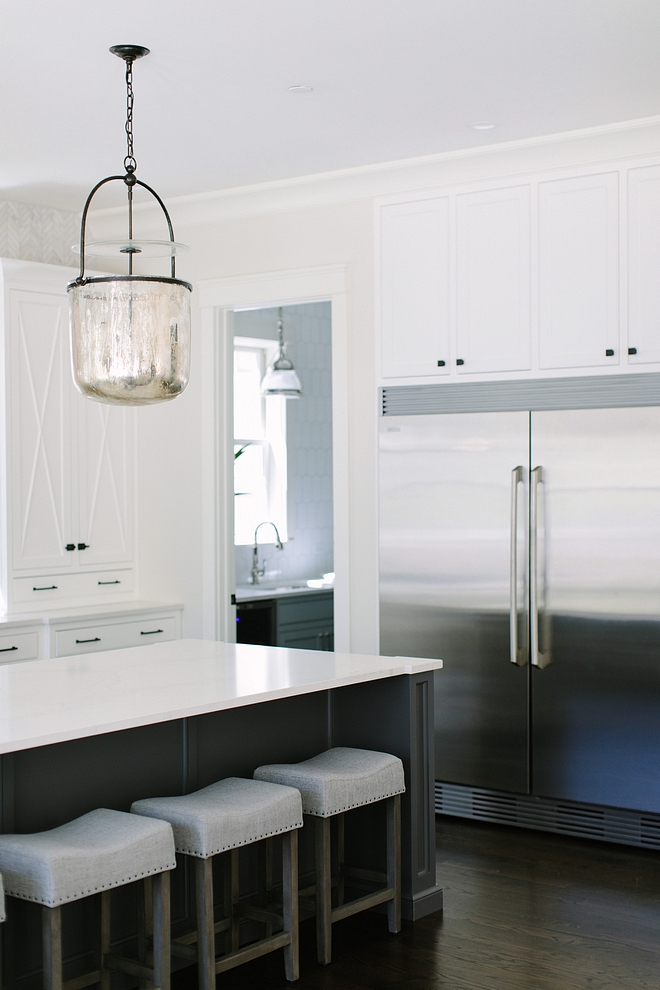 Simple White by Benjamin Moore Inset Cabinet White kitchen cabinet Simple White by Benjamin Moore Inset Cabinet #SimpleWhiteBenjaminMoore #InsetCabinet