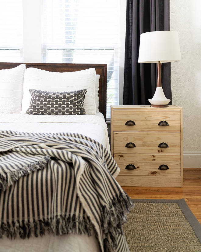 Farmhouse Bedroom Behr Ultra Pure White Paint Color