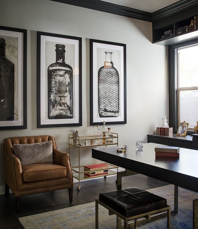 Masculine Home Office Design Ideas Masculine Home Office Masculine Home Office #MasculineHomeOffice