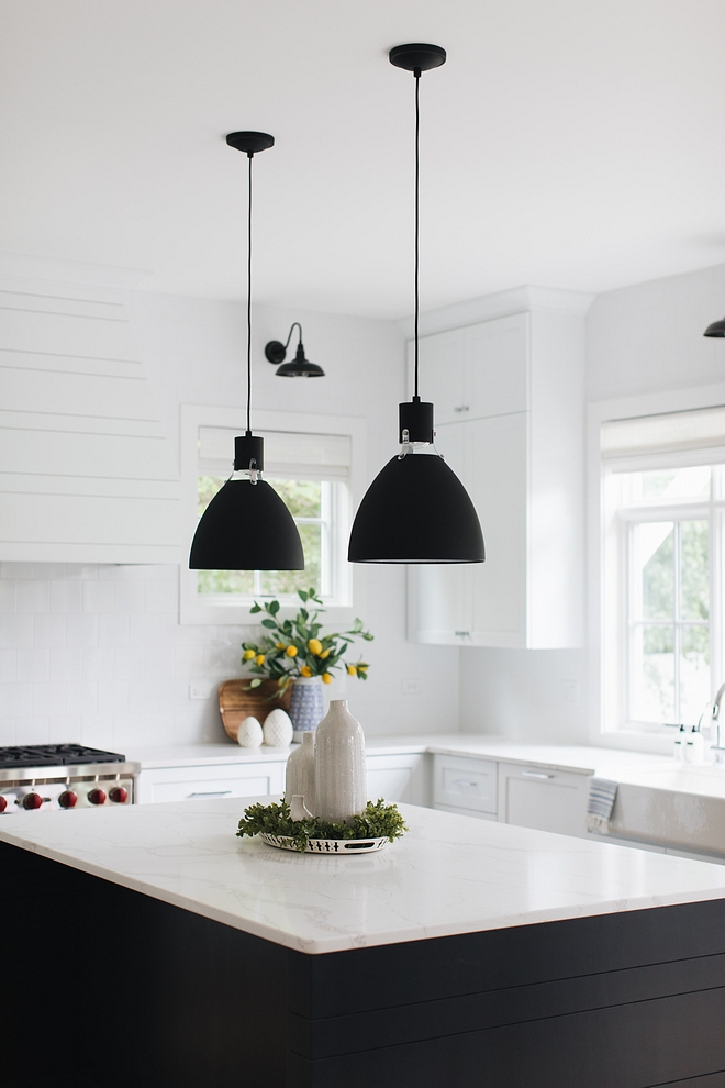 Get the look of white marble but without the hassle Countertop is Cashmere Carrara quartz #countertop #kitchencountertop #CashmereCarrara #quartz