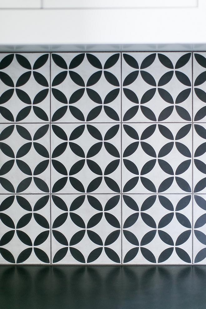 Cement Backsplash Tile white and black cement tile Cement Backsplash Tile white and black cement tile #Cementtile #BacksplashTile #blackcementtile #whitecementtile