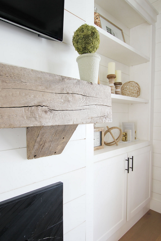 Chunky wood Mantel Real reclaimed wood matel DIY Real reclaimed wood mantel fireplace mantel Chunky wood Mantel Real reclaimed wood #Realreclaimedwoodmantel #DIYmantel #ChunkywoodMantel
