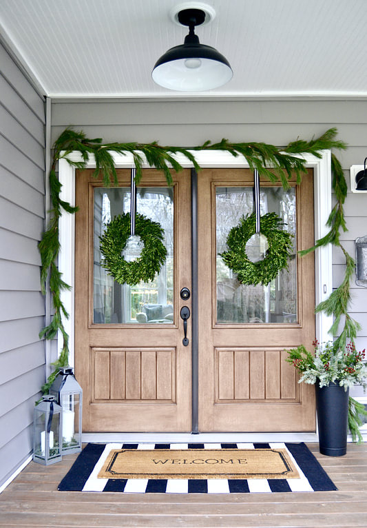 Christmas Double Front Door Decor Easy and fast Christmas Double Front Door Decor Ideas Christmas Double Front Door Decor #ChristmasDoubleFrontDoorDecor #ChristmasFrontDoorDecor #ChristmasDoorDecor #ChristmasDecor