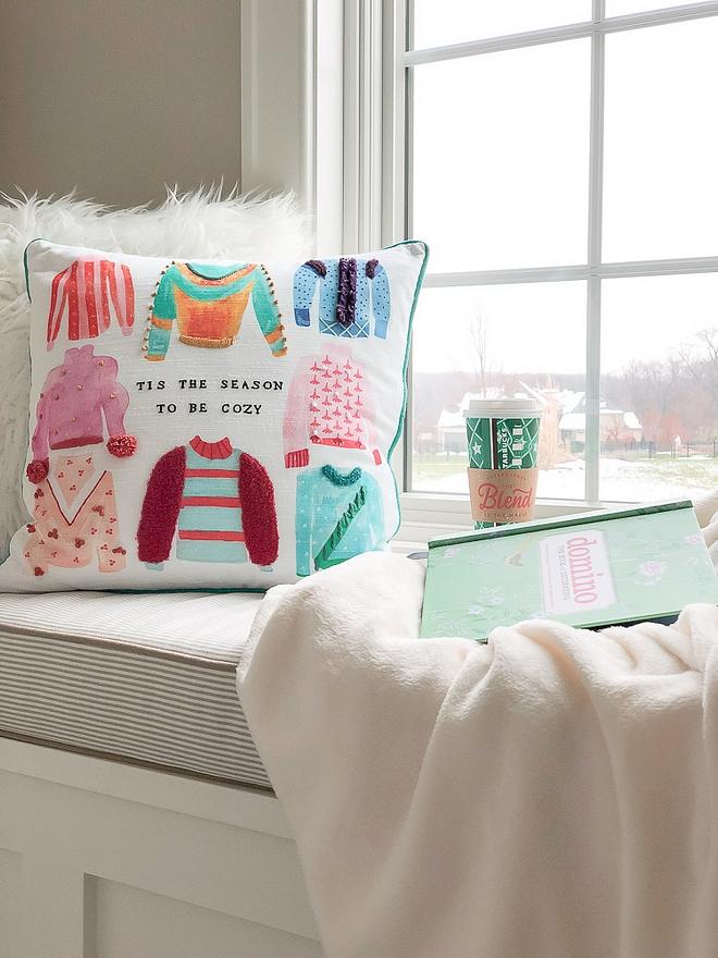 tis the season to be cozy pillow