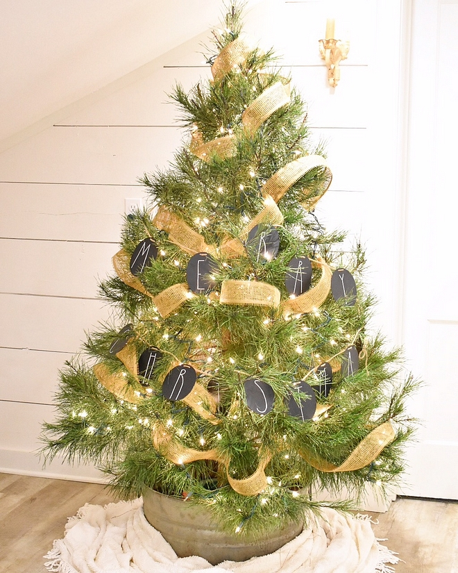 Natural Christmas tree in a tin bucket Farmhouse Natural Christmas tree in a tin bucket Farmhouse Ideas Natural Christmas tree in a tin bucket Farmhouse #NaturalChristmastree #tinbucket #Farmhouse