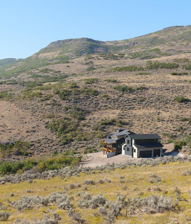 Sherwin Williams Iron Ore SW 7069 Mountain Desert Home painted in Sherwin Williams Iron Ore SW 7069 #SherwinWilliamsIronOre #SW7069