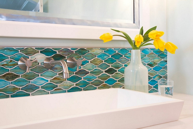 Hirsch Glass Silhouette Glass Mosaic Tile