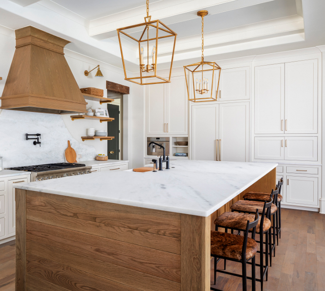 Natural wood kitchen island Island Color Custom Natural Wood Finish Natural wood kitchen island Island Color Custom Natural Wood Finish with shiplap sides Natural Wood Finish #naturalwoodcabinet #naturalwoodkitchen #naturalwoodcabinetry #woodkitchen