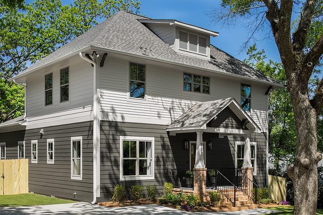 Two-toned Grey and charcoal exterior home paint color Two-toned Grey and charcoal exterior home Ideas Two-toned Grey and charcoal exterior home siding Two-toned Grey and charcoal exterior home #Twotonedhome #Greyexterior #greyhomes #greysiding #charcoalexterior #exterior #exteriors #paintcolor #exteriorpaintcolor #sidingpaintcolor
