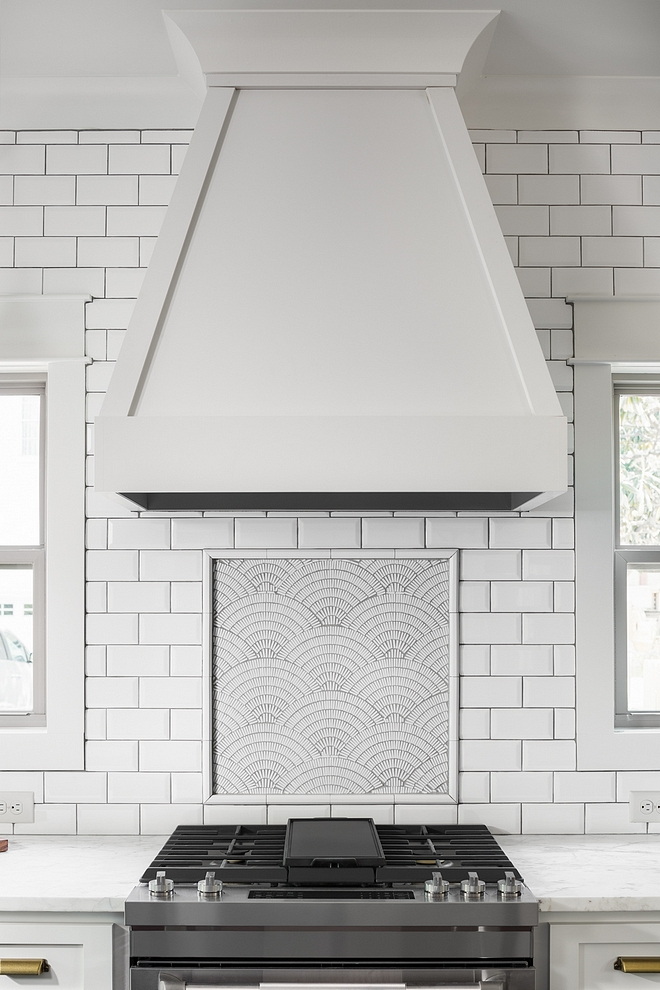 Matte Subway Tile Kitchen Backsplash is a 3x6 Matte white subway with silverado grout Matte Subway Matte Subway #MatteSubway